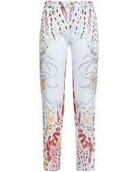 Roberto Cavalli Denim Pants - Blue