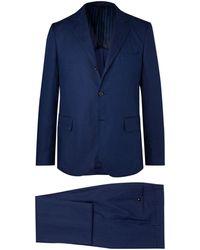 Mp Massimo Piombo Costume - Bleu