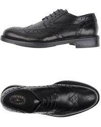 Triver Flight Lace-up Shoes - Black
