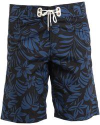 Tom Ford Pantaloni da mare - Blu