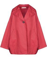 Marni Overcoat - Red