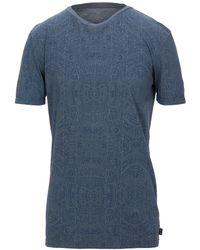 Care Label T-shirt - Blue