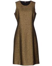 Theyskens' Theory Short Dress - Brown