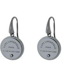 Karl Lagerfeld Earrings - Gray