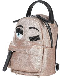 Chiara Ferragni Backpacks & Bum Bags - Metallic