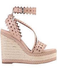 Alaïa Sandals - Pink
