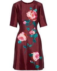 Lela Rose Kurzes Kleid - Rot