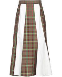 AALTO Long Skirt - Green