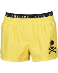 Philipp Plein Swimming Trunks - Yellow