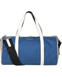 Burberry Travel & Duffel Bag - Blue