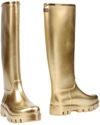 Dolce & Gabbana Boots - Metallic