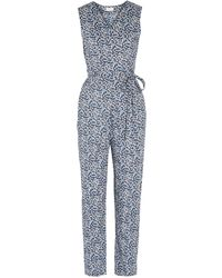 Miguelina Overalls - Blue