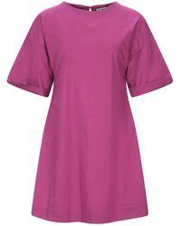Alpha Studio Short Dress - Purple
