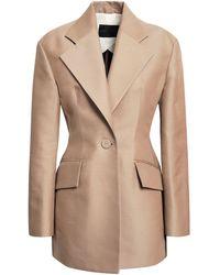 Proenza Schouler Suit Jacket - Natural