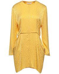 Roseanna Short Dress - Yellow