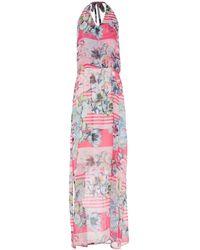 Lafty Lie Midi Dress - Pink