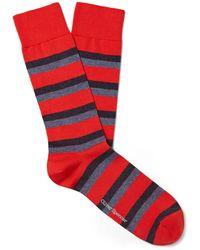 Oliver Spencer Socks & Hosiery - Red