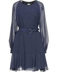 Sportmax Code Short Dress - Blue