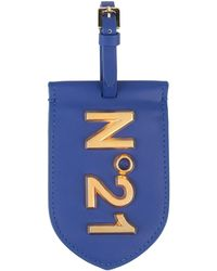 N°21 Etiqueta para equipaje - Azul