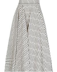 Alaïa Falda a media pierna - Multicolor