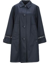 Peuterey Overcoat - Blue