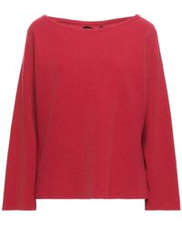 Mp Massimo Piombo Pullover - Rot