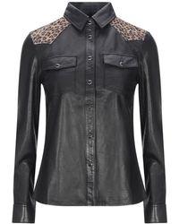 AllSaints Camisa - Negro