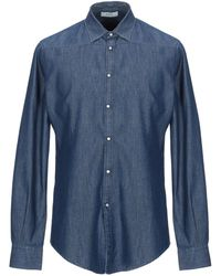 Alpha Studio Camicia jeans - Blu