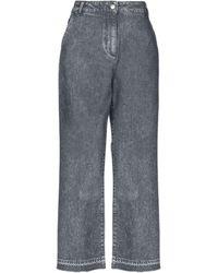 Fabiana Filippi Pantaloni jeans - Grigio