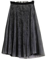 Dondup Midi Skirt - Purple