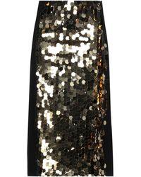 Shirtaporter Midi Skirt - Black