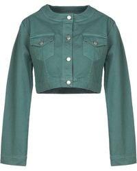 Ki6? Who Are You? Denim Outerwear - Green