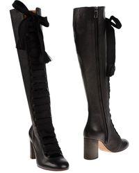 Chloé Knee Boots - Black