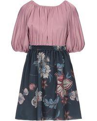 Satine Label Short Dress - Pink