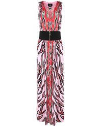 Class Roberto Cavalli Long Dress - Pink