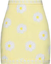 KATE BY LALTRAMODA Midi Skirt - Yellow