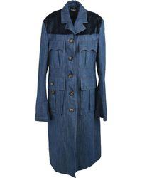 Miu Miu Denim Outerwear - Blue