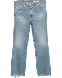 AG Jeans - Denim Trousers - Lyst