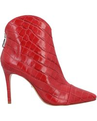 Schutz Ankle Boots - Red
