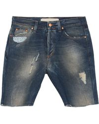 MNML Couture Shorts vaqueros - Azul