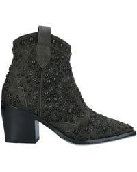 Laura Bellariva Ankle Boots - Green