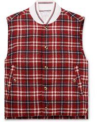 Thom Browne Down Jacket - Red