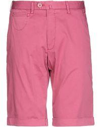 Isaia Shorts & Bermudashorts - Pink