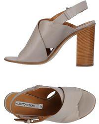 Alberto Fermani Sandals - Grey