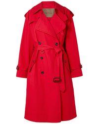 Marc Jacobs Overcoat - Red