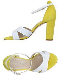 Karen Millen Sandals - White