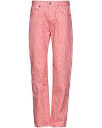 Martine Rose Denim Trousers - Pink