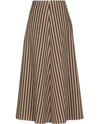 Giamba Long Skirt - Natural