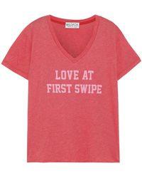 Wildfox T-shirt - Red