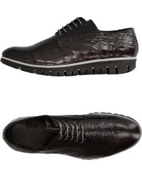 Gold Brothers Lace-up Shoes - Black
